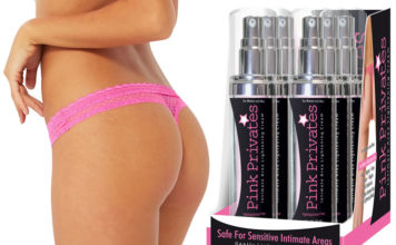 Pink privates bleaching cream
